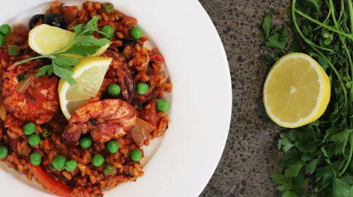 Chorizo & Prawn Paella - ActiFry Recipe