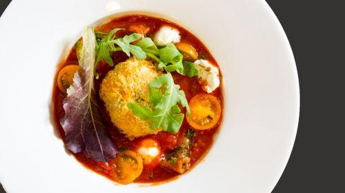 Mozzarella & Red Pesto Arancini - ActiFry Recipe
