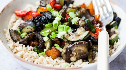 "Air-Fried Vegetable Stir Fry By ""Wallflower Kitchen"""