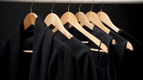 Ironing Black Clothing