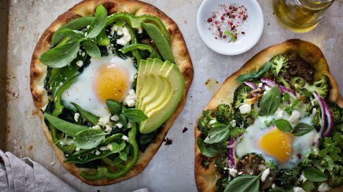 Breakfast Pizza, Main Pizza, Dessert Pizza