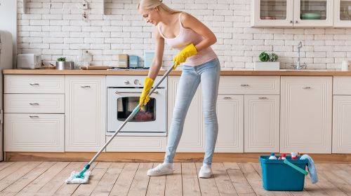 Spring Kitchen - How to Really Clean Up