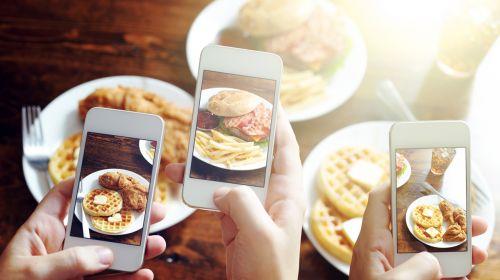 Instagram addicts eat tastier grub