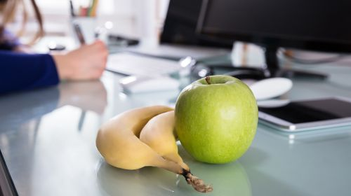 We Take The Same Pieces Of Fruit To Work Day In, Day Out