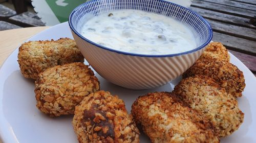 Salmon & Dill Croquettes By The Two Chubby Cubs