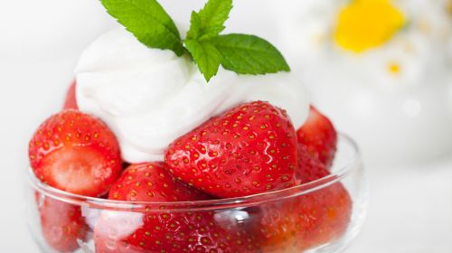 Strawberries And Cream Fall Victim To TFL Junk Food Ban