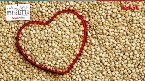 K is for Quinoa