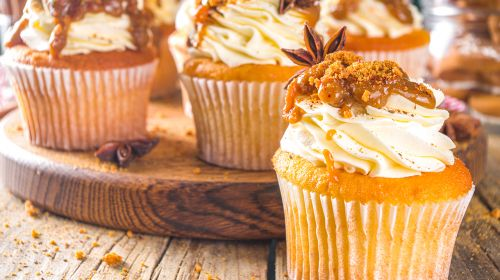 Go Crazy For Autumn Cupcakes