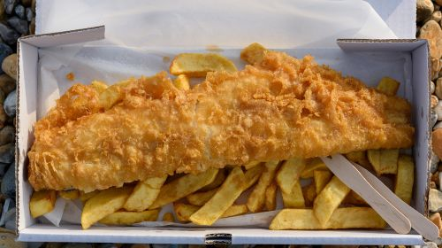 UK's Top Fish and Chips Teamings Revealed