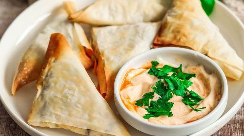 Vegan Samosa's By Nadia's Healthy Kitchen